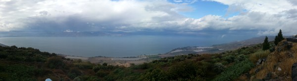 View over the Sea of Galilee from Mitzpe HaShalom / Peace Vista
