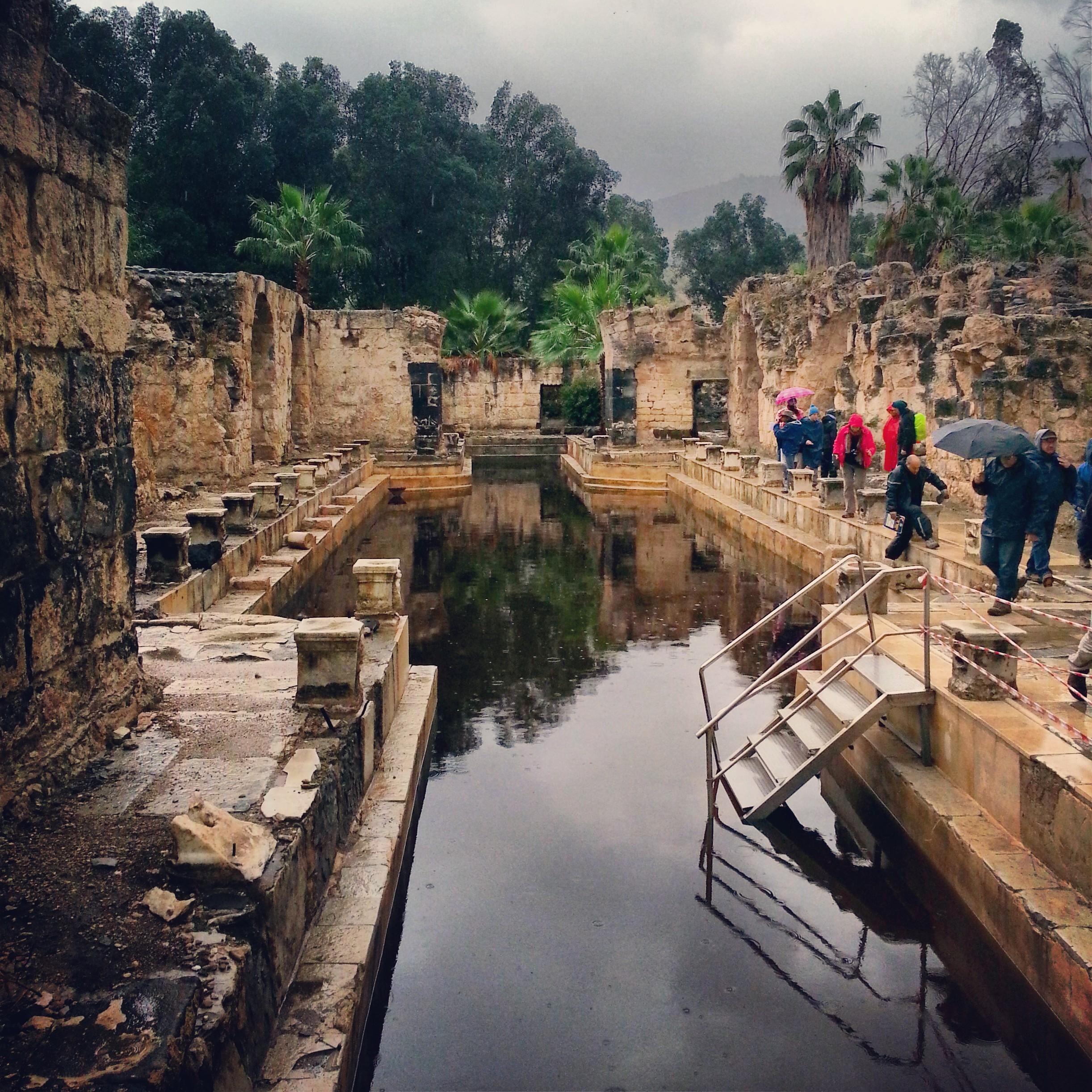 Roman Baths at Hamat Gader