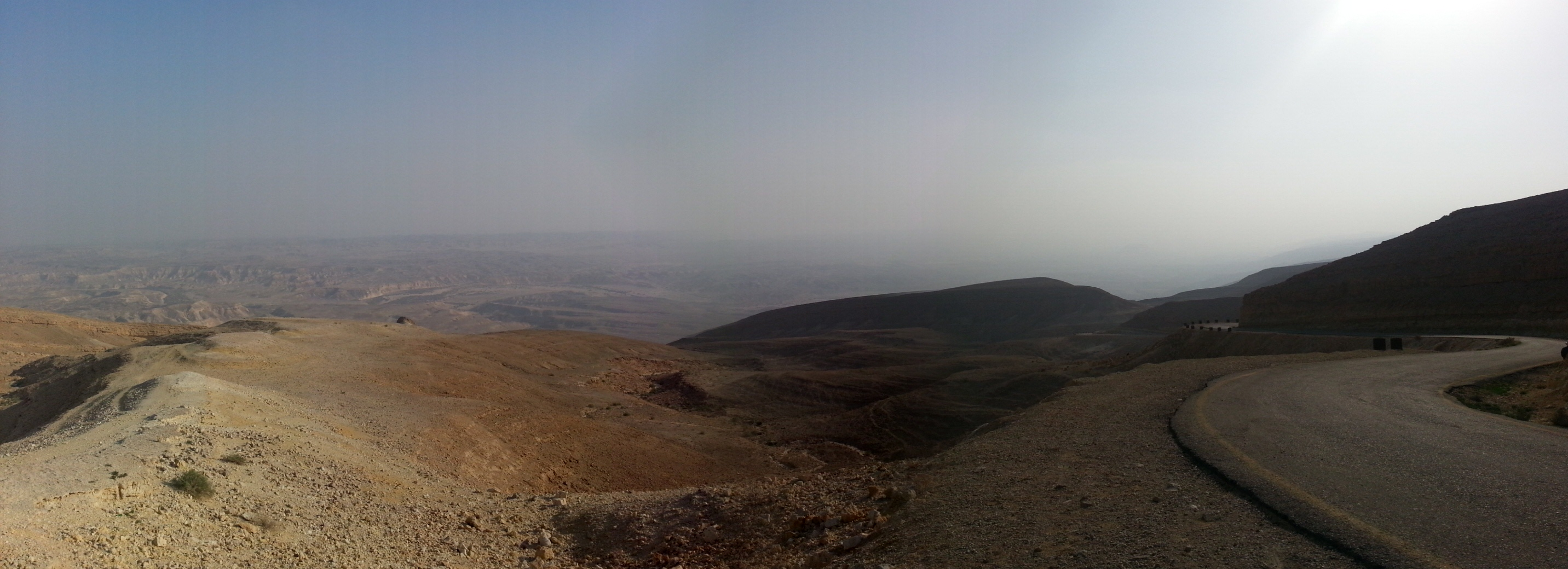 View from the top of the Scorpions' Ascent