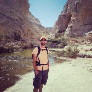 Hiking Ein Avdat