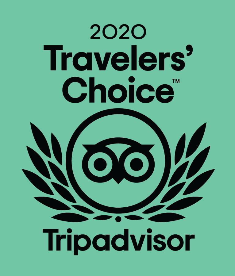 TripAvisor Traveller's Choice Award 2020 Logo