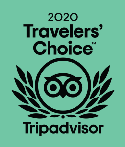 TripAvisor Traveller's Choice Award 2020 Logo