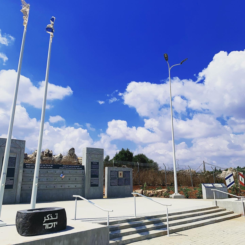 Memorial to the South Lebanon Army on the Israel/Lebanon border