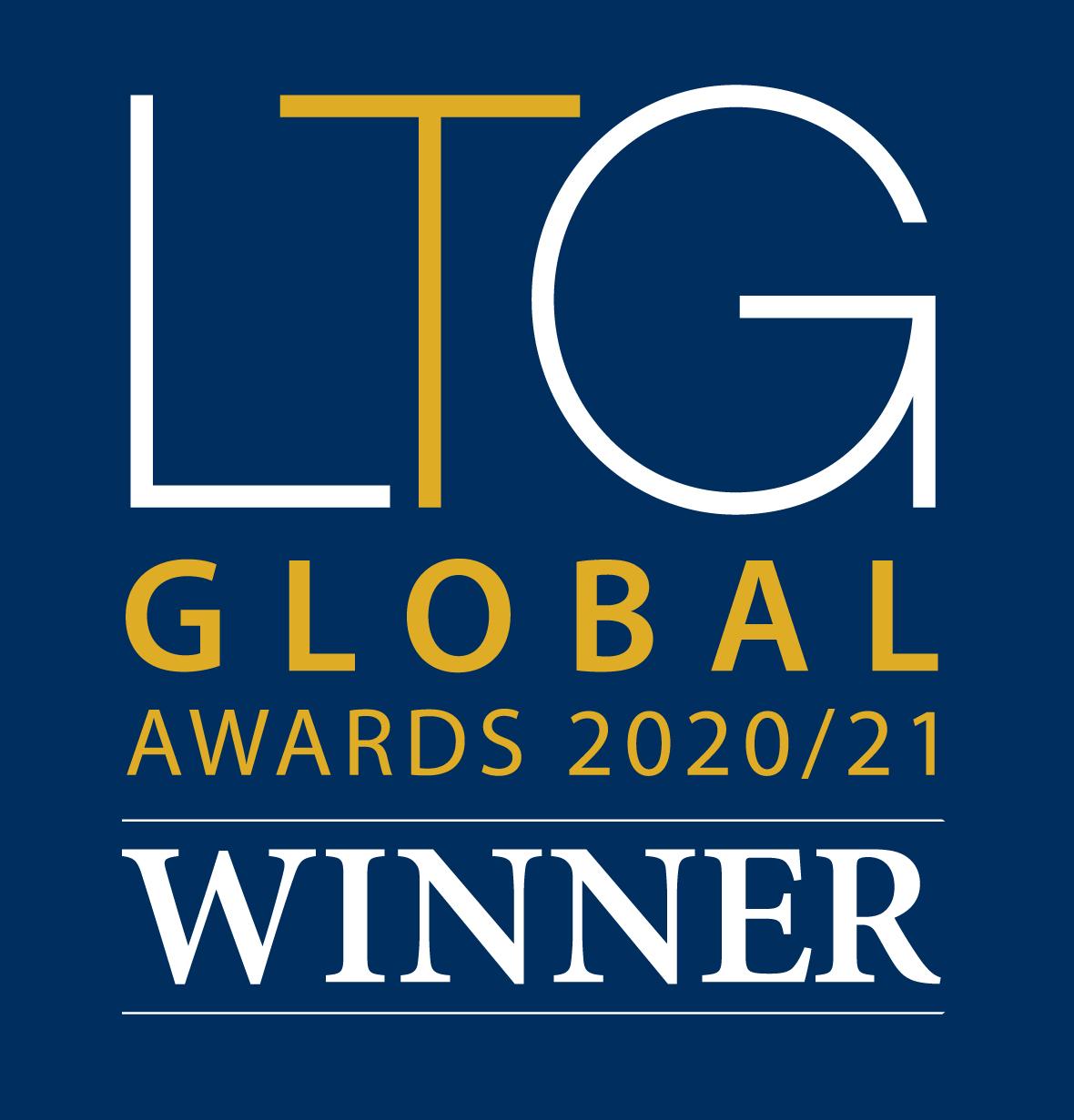 Luxury Travel Guide Global Awards Winner 2020-21 Logo