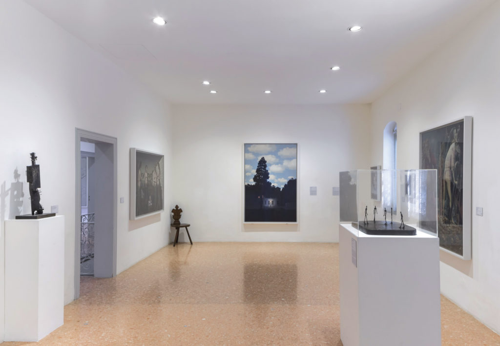Peggy Guggenheim Collection contemporary art museum in Venice