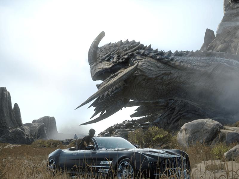 Final Fantasy XV Creature Enormi