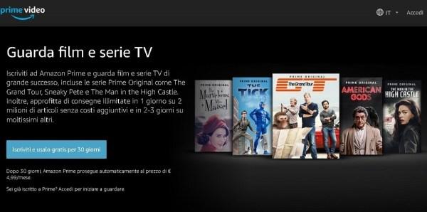 Amazon Prime Video contro Netflix