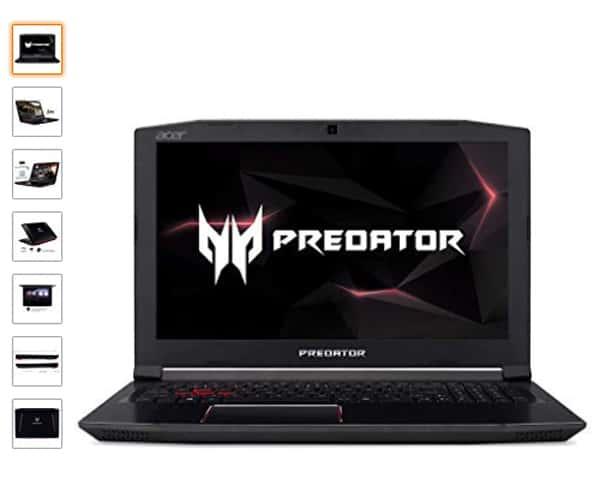 Acer Predator Helios 300 miglior laptop 2019 da gioco