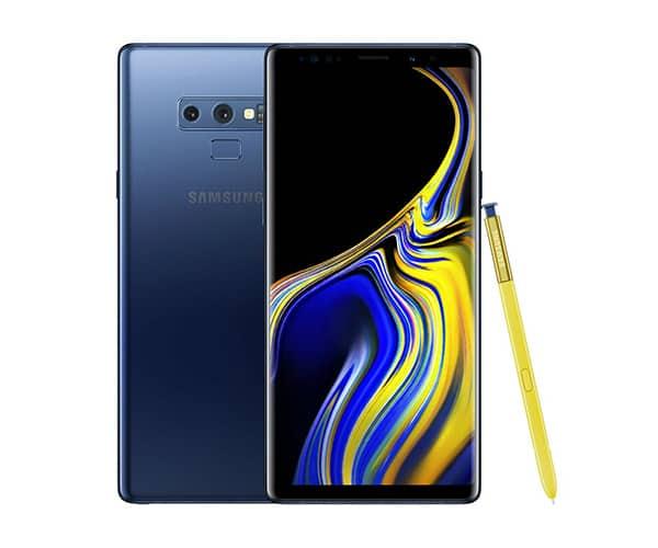 Samsung galaxy note 9. Migliori affare smartphone 2019.