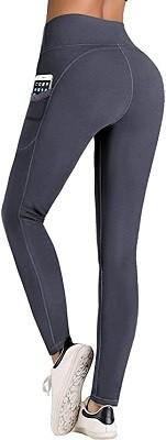 IUGA Pantaloni Yoga a Vita Alta