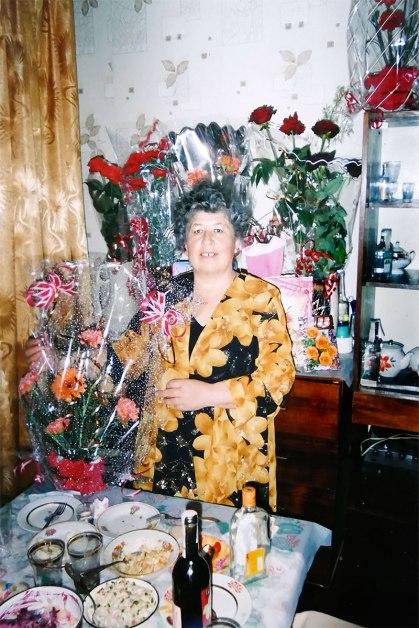Аксенова Полина Леонидовна 15 марта 2006 год Мой Юбилей, Изюм