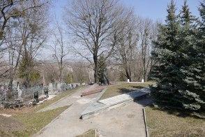 Вид на город от памятника «Скорбящая Мать»