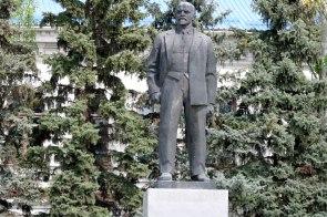 Вождь мирового пролетариата В.И. Ленин в Изюме