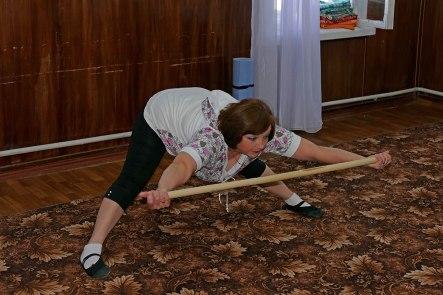 Павленко Галина Павловна - руководитель женской физкультурной группы «Территориального Центра Социальной Помощи Изюма»