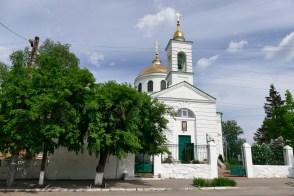Крестовоздвиженская церковь - общий вид