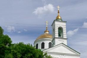 Крестовоздвиженская церковь - звонница