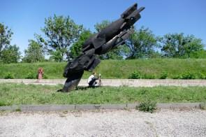 Военная техника - серьезное увлечение Сергея Мосюр
