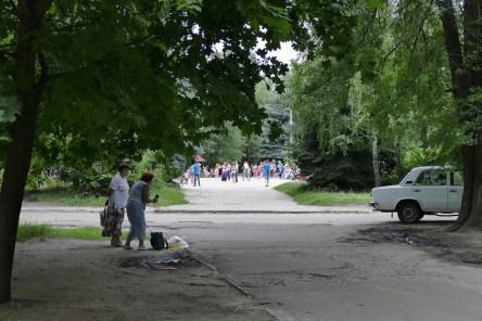 Площадь у памятника генералу Волох