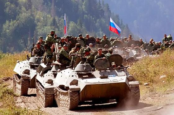 Вероломное нападение России на Грузию