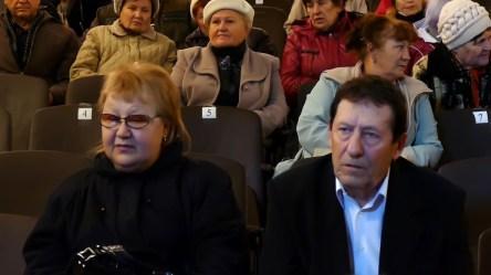 Александр Саченков с супругой на юбилейном концерте хора «Криниченька»