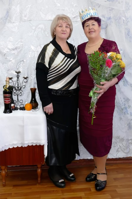 Шульга Раиса Николаевна и Полина Аксенова