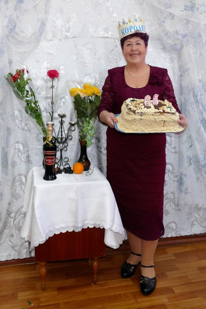 Аксенова Полина Леонидовна - Юбилей