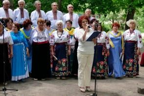 Валентина Николаевна Лисаченко читает стихи