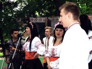 Концерт в Центральном парке посвященный Дню города
