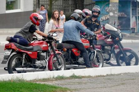Мотоциклисты Изюма