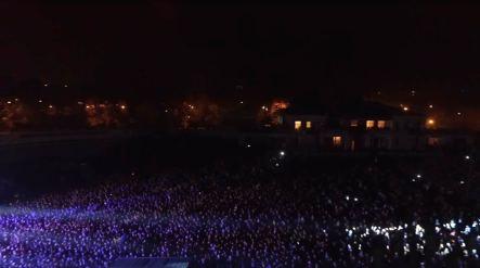 На стадионе «Авангард» в Краматорске 5 октября 2016 года состоялся последний в нынешнем году бесплатный концерт легендарных украинских рокеров «Океана Эльзы».