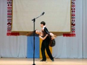 Исполнение танца «Попурри» в стилях: самба, ча-ча-ча, пасодобль, румба, джайв и др Татьяной Коротченко и Вячеславом Соколовым