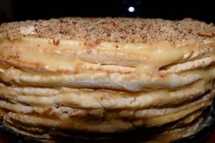 Торт несложного изготовления «Наполеон»