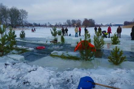 Это ледяная купель с температурой воды +0,3