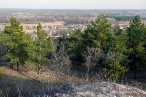 Это район юго-восточного склона горы Кремянец