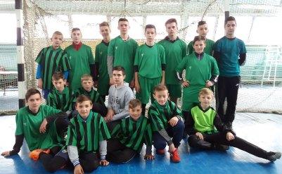 Молодые изюмские футболисты