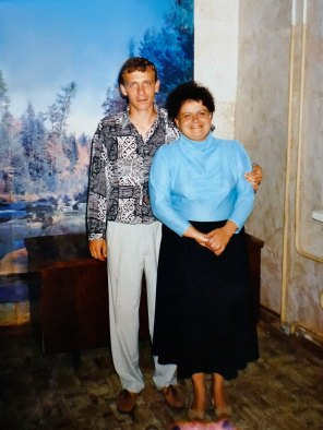 Андрей Верещака и его мама - Татьяна Николаевна