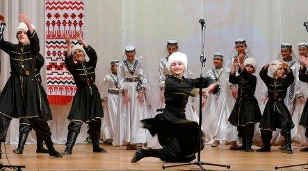 Танцевальный коллектив «Вдохновение» - «Лезгинка»