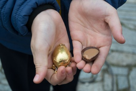 Пасхальные яйца - символом праздника является яйцо