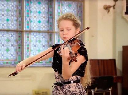 Скрипка - София Уланова
