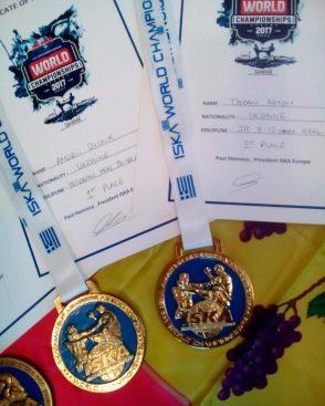 Национальная сборная Украины получила 61 медаль, из них 31 — золотых, 14 — серебряных и 16 — бронзовых