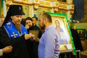 Медалью Песчанской иконы Божьей Матери II степени был награжден заместитель Изюмского городского головы по гуманитарным вопросам Владимир Мацокин