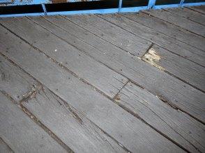 Ужасное техническое состояние моста
