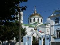 Крестовоздви́женская церковь — действующий православный храм города Изюм Харьковской области, основанный в 1719 году. Адрес: город Изюм, ул. Соборная, 5.