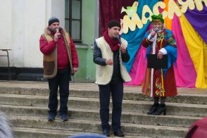 Дмитрий Винник, Максим Кондратьев и Ирина Овередная
