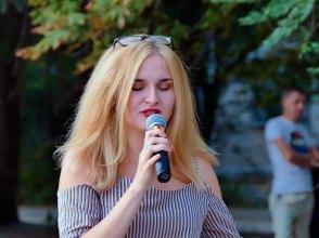 Концерт в Изюме, посвященный Дню Независимости Украины