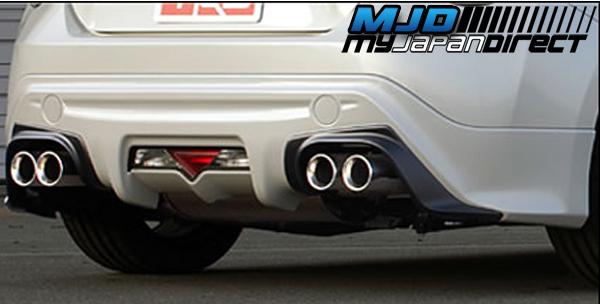 trd rear bumper spoiler no paint for scion fr s zn6 mc