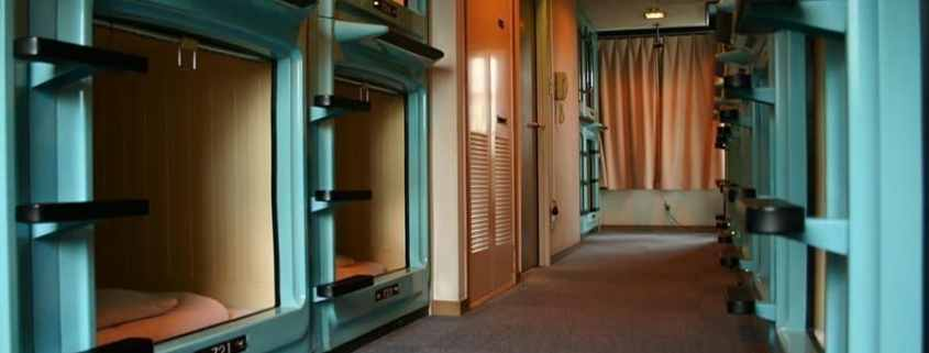 Bee comfortable and try a Capsule Hotel