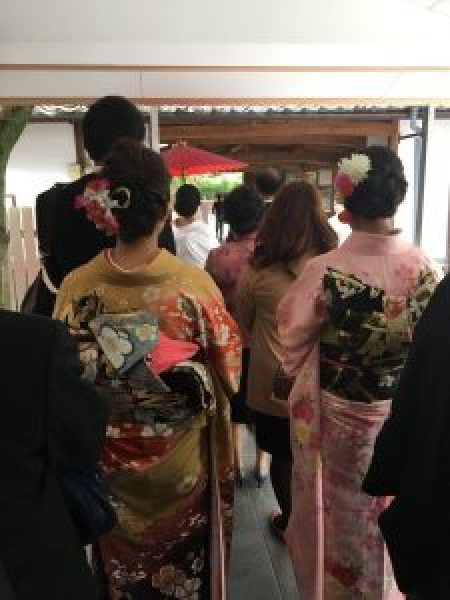 Attending a traditional wedding in japan the ceremony my japan slice japanese wedding procession junglespirit Images