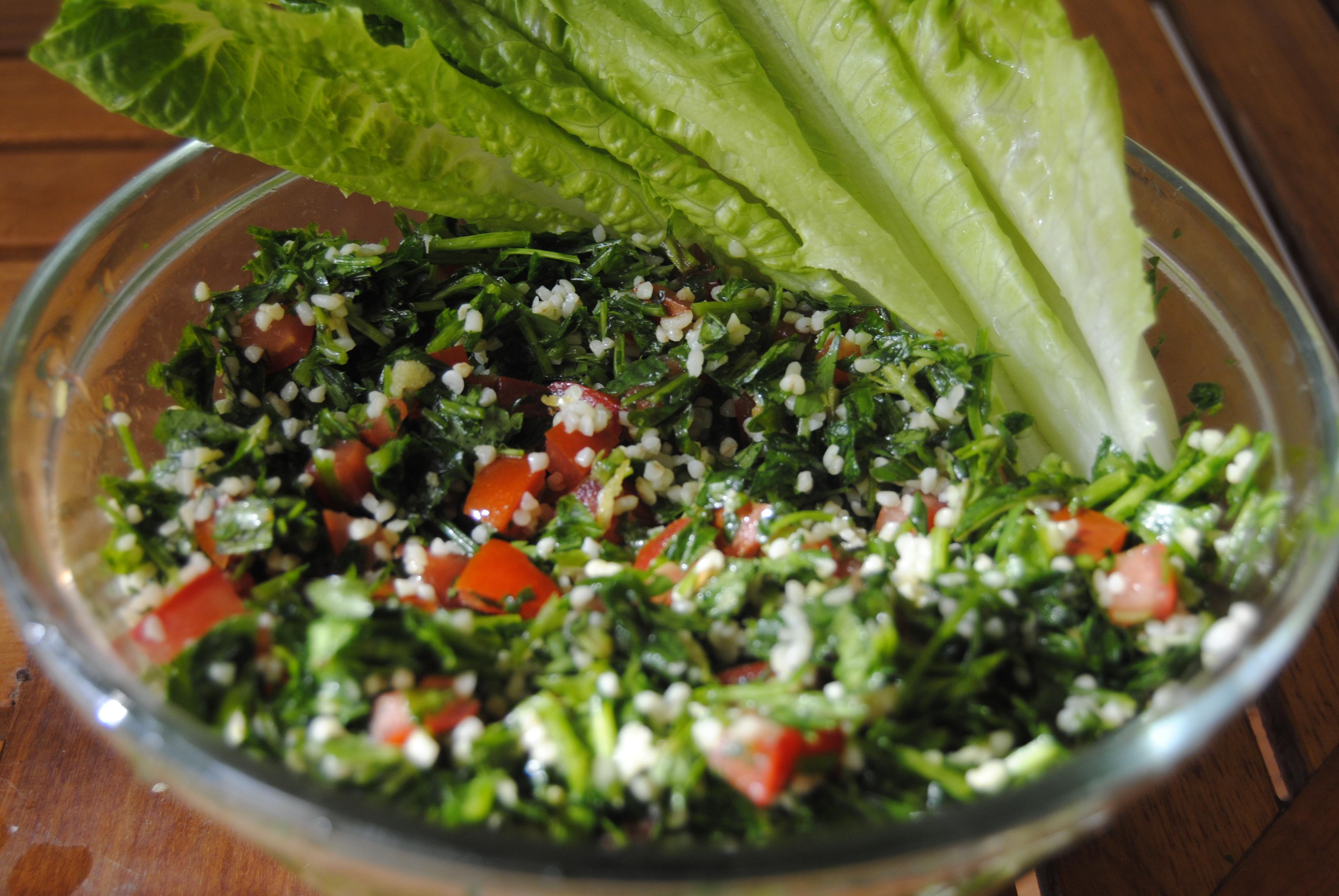 Tabbouleh Salad My Jerusalem Kitchen