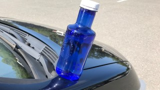 青いボトル500